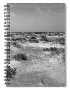 Lonely Beach Spiral Notebook