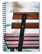 Lonely Bench Spiral Notebook