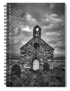 Lonely Chapel Spiral Notebook