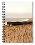 Lonely Dune Spiral Notebook