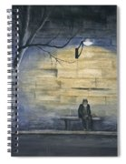 Lonely In Paris Spiral Notebook