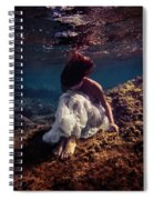 Lonely Mermaid Spiral Notebook