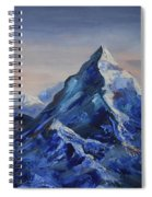 Lonely Mountain Cliff Spiral Notebook