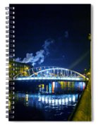 Lonely Night Spiral Notebook