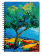 Lonely Olive Tree Spiral Notebook