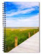 Lonely Pier II Spiral Notebook