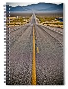 Lonely Road #2 Spiral Notebook