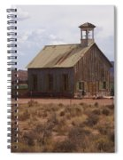 Lonely Schoolhouse Spiral Notebook