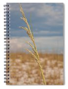 Lonely Sea Oat Spiral Notebook
