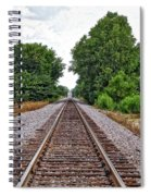 Lonely Track Spiral Notebook