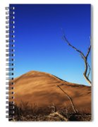 Lonely Bare Tree And Sanddunes Spiral Notebook