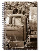 Lonely Truck Spiral Notebook