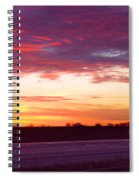 Lonesome Highway Spiral Notebook