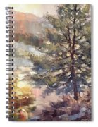Lonesome Pine Spiral Notebook