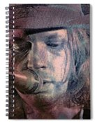 Lonesome Tears Spiral Notebook