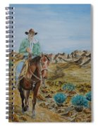 Lonesome Trail Spiral Notebook