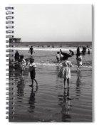 Long Beach California Bathers C. 1910 Spiral Notebook