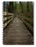 Long Boardwalk Through The Wetlands Spiral Notebook