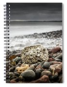 Long Exposure At Lawrencetown Beach, Nova Scotia Spiral Notebook