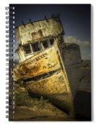 Long Forgotten Boat Spiral Notebook