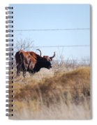 Long Horn Spiral Notebook