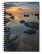 Long Island Sound Tranquility Spiral Notebook