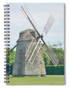 Long Island Wind Mill Spiral Notebook