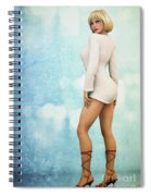 Long Legs Spiral Notebook