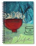 Long Life Noodles Spiral Notebook