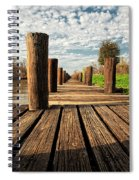 Long Long Way To The Bayou - Louisiana Dock Spiral Notebook