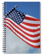 Long May She Wave Spiral Notebook
