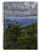 Long Misty Days Spiral Notebook