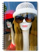 Long Necked Lovelies Spiral Notebook