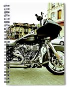 Long Pipes Spiral Notebook