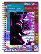 Long Purple Road To Elemental Spiral Notebook