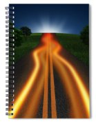 Long Road In Twilight Spiral Notebook