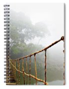 Long Rope Bridge Spiral Notebook