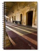 Long Shadows In San Cristobal Spiral Notebook