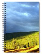 Long Shadows Spiral Notebook