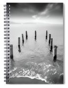 Long Silence Spiral Notebook