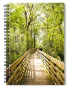 Long Walks Spiral Notebook