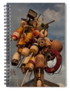 Long Wharf Buoys Spiral Notebook