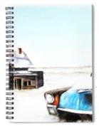 Long Winter Spiral Notebook