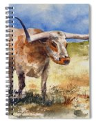 Longhorn Spiral Notebook