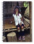 Longneck Beauty Spiral Notebook