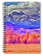 Longs Peak Spiral Notebook