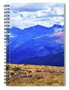 Longs Peak Rocky Mountain National Park Spiral Notebook