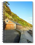 Looe Boathouse Spiral Notebook