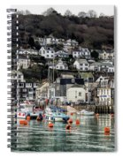 Looe Harbour - Cornwall Spiral Notebook