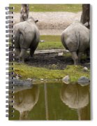 Look At The Best Parts Spiral Notebook